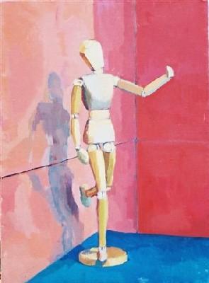 Awkward mannequin