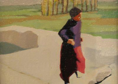 Girl Skipping II - 8x8