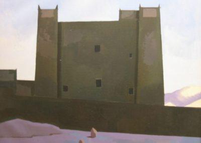 Kasbah at Twilight - Draa Valley - 36x30