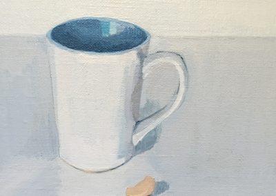 Mug and cashew