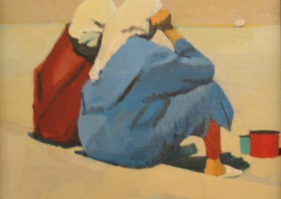 Two women in Fez - 8x8
